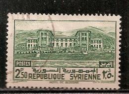 SYRIE       OBLITERE - Syrie