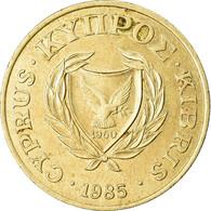 Monnaie, Chypre, 20 Cents, 1985, TTB+, Nickel-brass, KM:57.2 - Cyprus