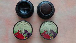 2 Miniatures Parfums Gueneaux ( Paris)  Lilas Et Oeillet - Vintage Miniatures (until 1960)
