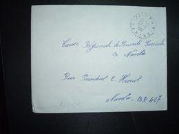 LETTRE OBL. Tiretée 22-11 1967 72 SPAY SARTHE - Marcophilie (Lettres)