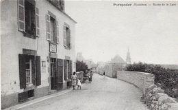 29 PORSPODER - Route De La Gare - Animée - Otros Municipios