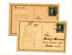 Carte Postale 8 Empereur Cachet - Postwaardestukken