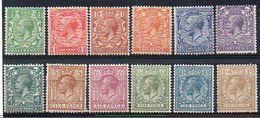 GB N° 159 à 170 Neuf * - Cote 130€ - Ungebraucht