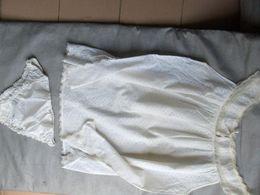 Nuisette Et Culotte Coton Broderie Anglaise Vintage  Marque Ange - Vestiti & Biancheria D'epoca