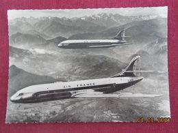 """CPSM GF - """"Caravelle"""" De La Compagnie Air France - 1946-....: Era Moderna"""