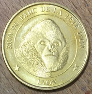 69 LYON ZOO DU PARC DE LA TÊTE D'OR LE GIBON MEDAILLES ET PATRIMOINE SANS DATE JETON TOURISTIQUE MEDALS COINS TOKENS - Turistici