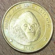 69 LYON ZOO DU PARC DE LA TÊTE D'OR LE GIBON MEDAILLES ET PATRIMOINE 2013 JETON TOURISTIQUE MEDALS COINS TOKENS - Turistici