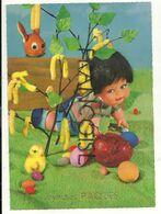 Joyeuses Pâques. Poupée, Oeufs. Zoecke Glanz - Games & Toys