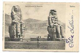 Thèbes Les Collosses De Mamnon - Egypt