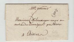 BORDEAUX : B Couronné, Len 18 + TM 6 / LAC De 1784 < Thiviers - Marcophilie (Lettres)