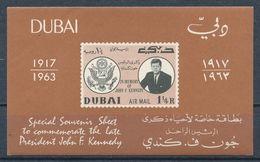 °°° DUBAI - KENNEDY - 1963 MNH °°° - Dubai