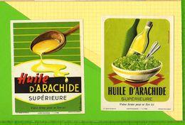 2 ETIQUETTES HUILE DArachide - Etichette