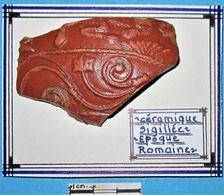 Céramique Sigillée. Epoque Romaine. - Archéologie
