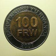 Rwanda 100 Francs 2007 - Rwanda
