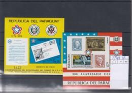 Paraguay  Michel Cat.No. Mnh/** Sheet 279/280 - Paraguay