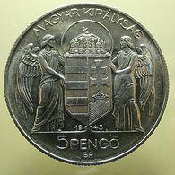 Hungary 5 Pengo 1943 - Hungría