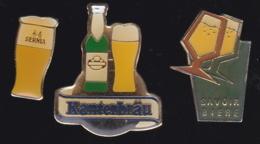 66234-Lot De 3 Pin's.. Bière.boisson.alcool. - Bierpins