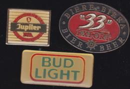 66236-Lot De 3 Pin's.. Bière.boisson.alcool. - Bierpins