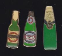 66237-Lot De 3 Pin's.. Bière.boisson.alcool. - Bierpins