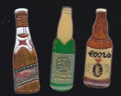 66238-Lot De 3 Pin's.. Bière.boisson.alcool. - Bierpins