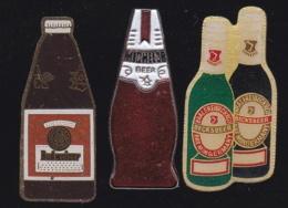 66239-Lot De 3 Pin's.. Bière.boisson.alcool. - Bierpins