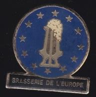 66255- Pin's.Brasserie De L'europe.bière. - Bierpins
