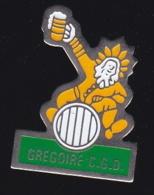 66257- Pin's-Gregoire CGD.Bière. - Bierpins