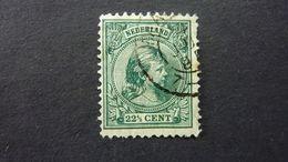 PAYS-BAS, Année 1891-97, YT N° 41 Oblitéré (cote 16 EUR) - Period 1891-1948 (Wilhelmina)