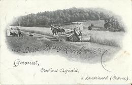 Landricourt  La Lieuse Massey- Harris (Pervaisot Machines Agricoles) - Frankrijk
