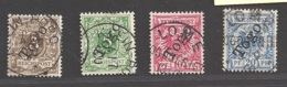 Deutsche Kolonien Togo Michel Nummer 1-4 Gestempelt - Kolonie: Togo