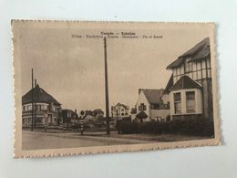 Carte Postale Ancienne  (1950) COXYDE-KOKSIJDE Villas : Vindictive, Ermita, Marinière, Vie Et Santé - Koksijde
