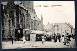 Batz: L'église Et La Place Du Garnal - Batz-sur-Mer (Bourg De B.)