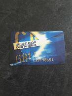 Carte De Fidélité  Blue Box - Gift Cards