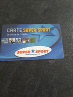 Carte De Fidélité  Super Sport - Gift Cards