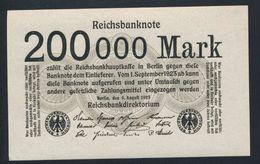 Pick100 Ro99b DEU-111b  200.000 Mark 1923 ** UNC NEUF - Andere