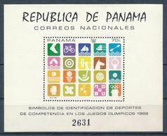 °°° PANAMA - JUEGOS OLIMPICOS - 1968 MNH °°° - Panama