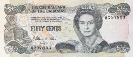 Bahamas 1/2 Dollar, P-42a (1984) UNC - Bahamas