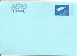 Norway Stationary AEROgramme    100 Norway - Norwegen