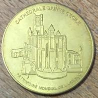 81 ALBI CATHÉDRALE SAINTE-CECILE MÉDAILLE SOUVENIR MARTINEAU NATIONAL TOKENS JETON TOURISTIQUE MEDALS COINS - Turistici