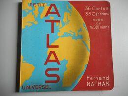 Petit Atlas Universel De Nathan - Livres, BD, Revues