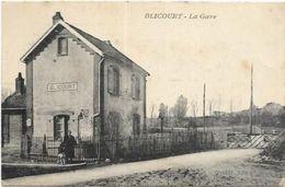 D 60.  BLICOURT.  LA GARE - Other Municipalities