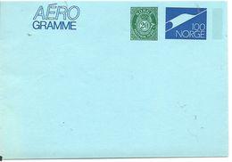 Norway Stationary AEROgramme    120 + 20 øre Norway - Norwegen