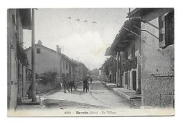 38 Dép.- Bernin (Isère) - Le Village. C.Baffer - Grenoble. Carte Postale Ayant Voyagé En 1912,dos Séparé, Bon état. - Frankrijk