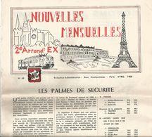 Chemin De Fer , SNCF , Nouvelles Mensuelles , N° 69 , Avril 1968 ,8 Pages , 2 Scans , Frais Fr 1.95 E - Railway & Tramway