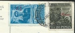 """Cpa """"  Roumanie """" Bucarest - La Maison Centrale De L'armée - Yvert N° 1162 + 1127   Qaa 6621 - Covers & Documents"""