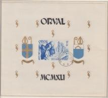 BELGIUM USED COB BL 12 ORVAL - Bloques 1924 – 1960