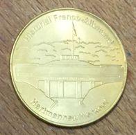 68 MEMORIAL FRANCO ALLEMAND MEDAILLE SOUVENIR MARTINEAU NATIONAL TOKENS JETON TOURISTIQUE MEDALS COINS - Turistici