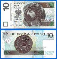 Pologne 10 Zlotych 2016 Prefix B Neuf Uncirculated Que Prix + Port Poland Paypal Bitcoin OK! - Polonia