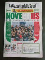 La Gazzetta Dello Sport Juventus CAMPIONE 2020 SCUDETTO - Sport