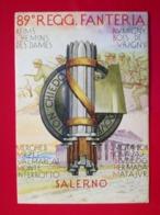 89° REGGIMENTO FANTERIA - SALERNO. - Regiments